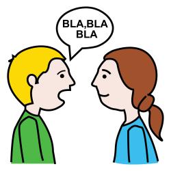 hablar