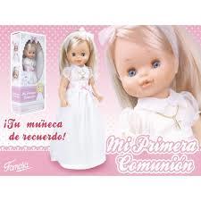 Muñeca mi primera comunión